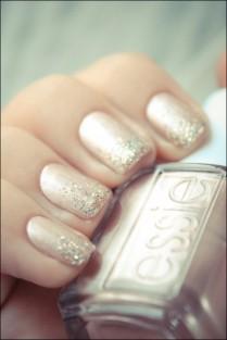 essie with sparkles