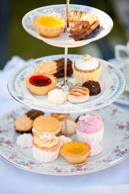 Fancy Tea Cakes