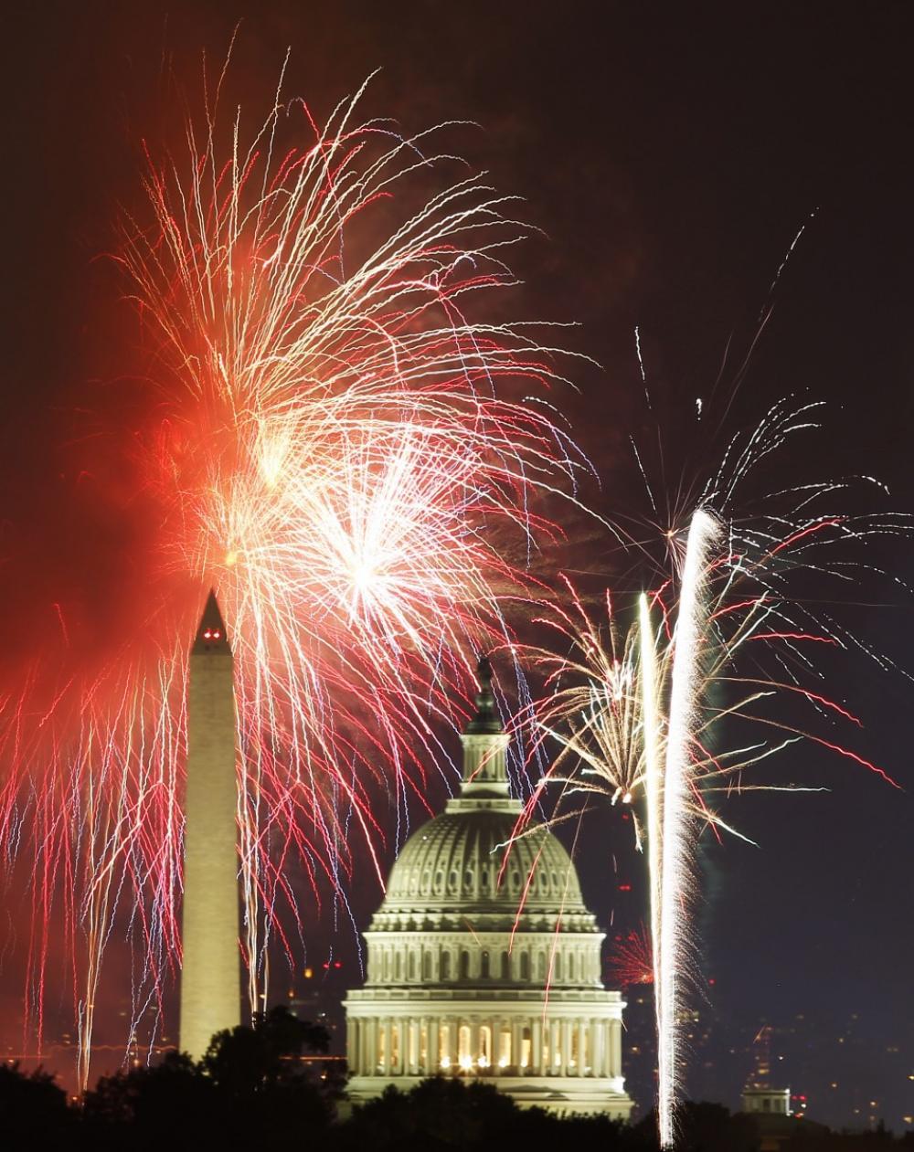 fireworks fourth
