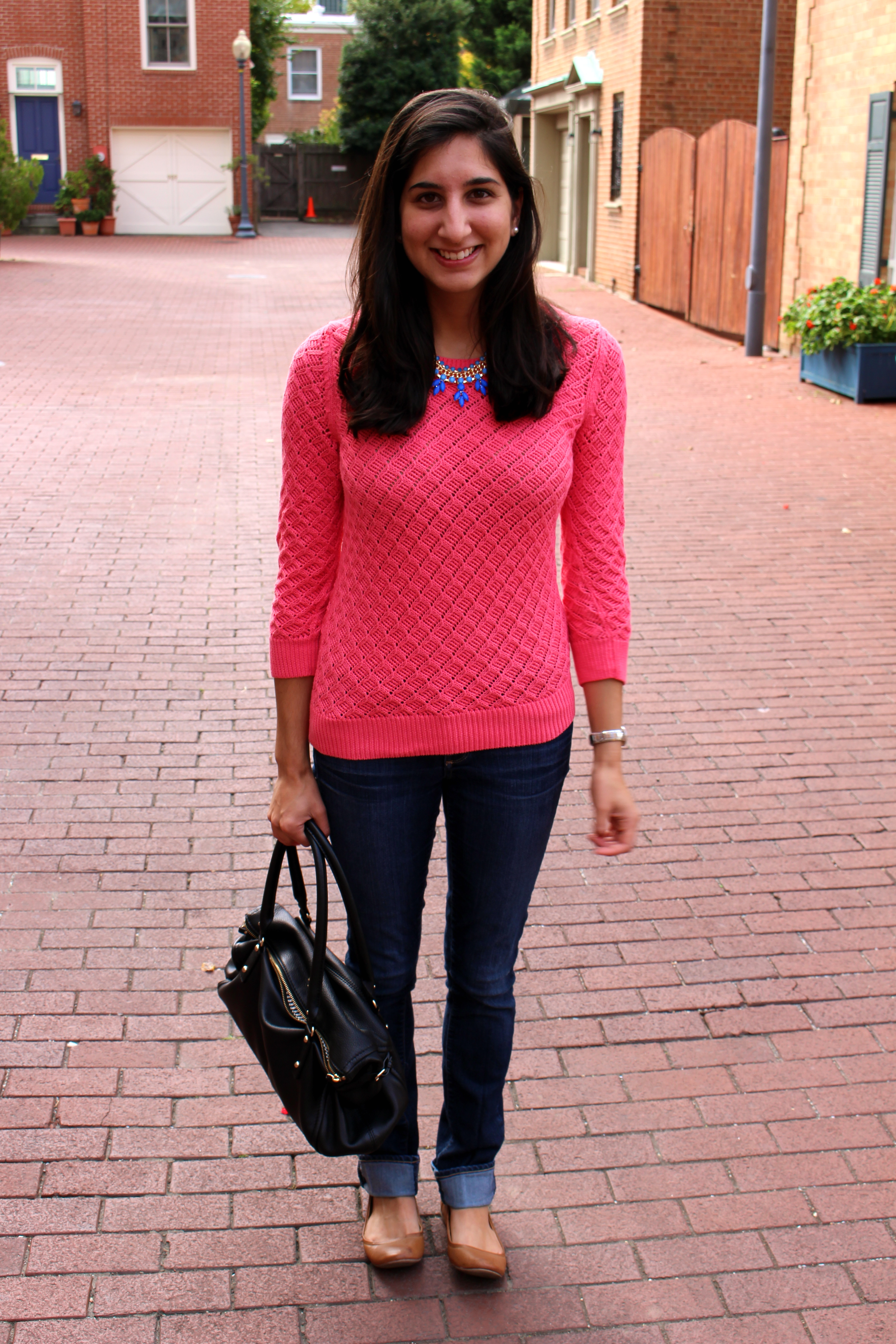 Outfit: Light Sweater