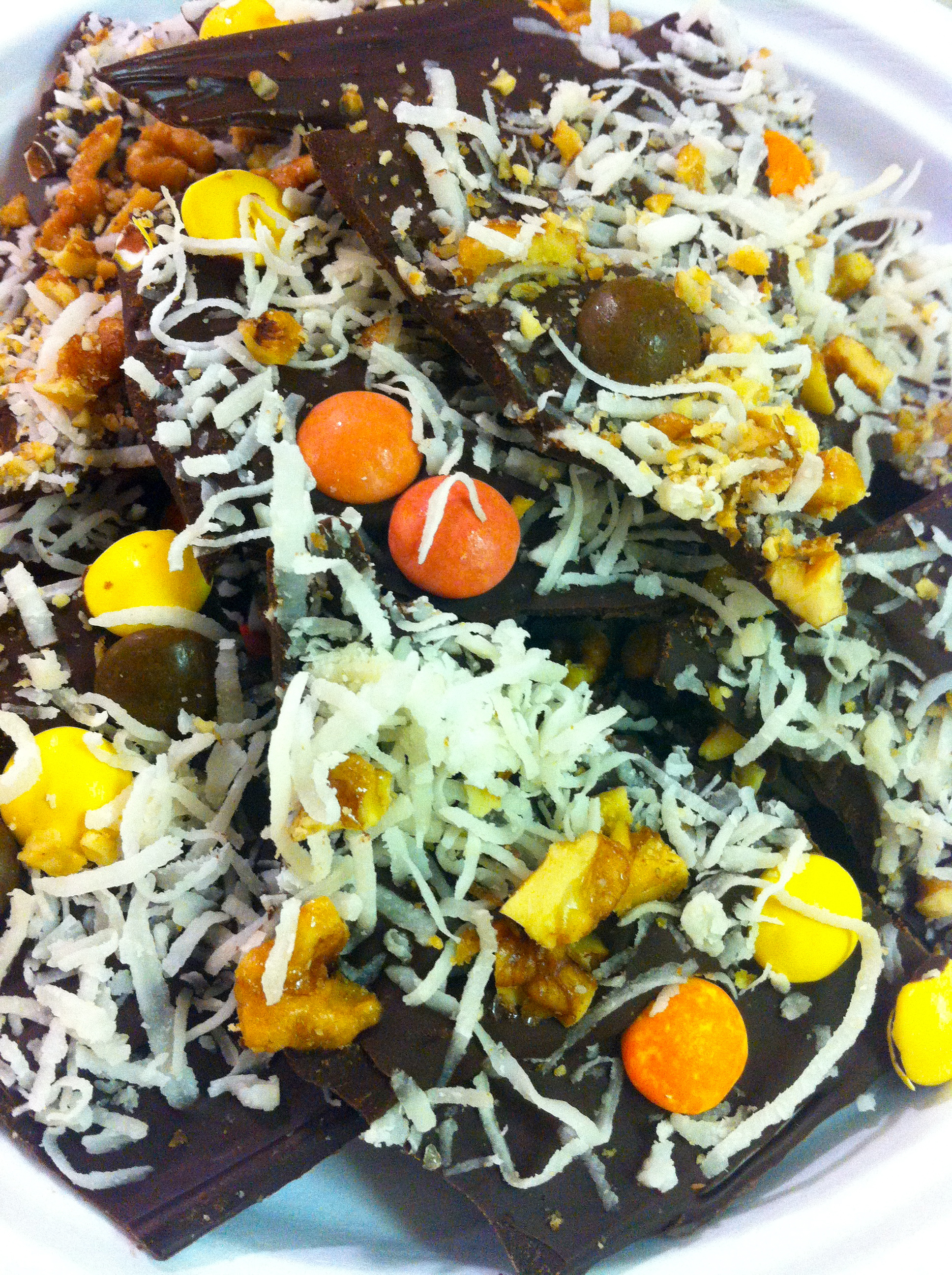 Chocolate Coconut Bark