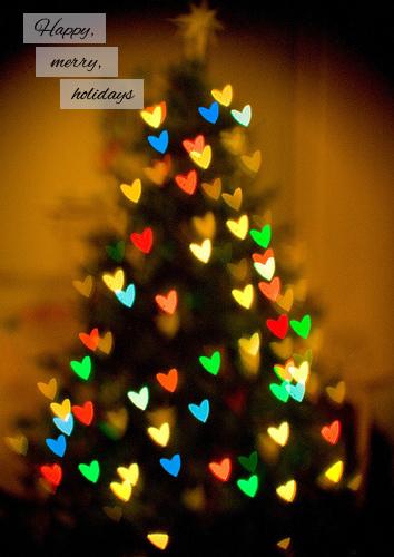 Happy merry holidays