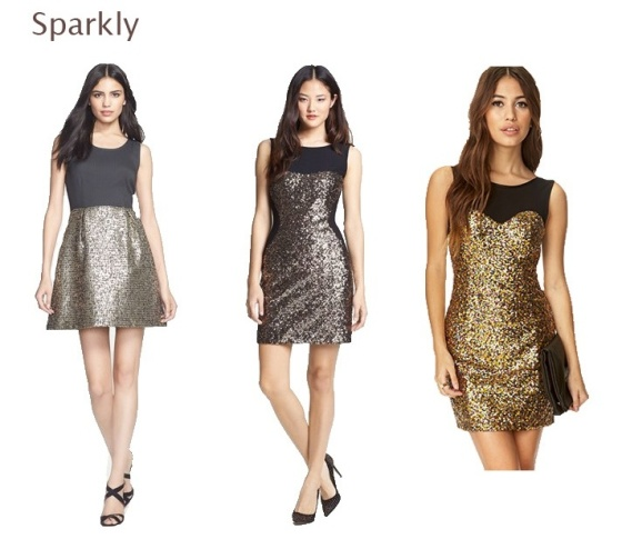 Holiday Dresses- Sparkly