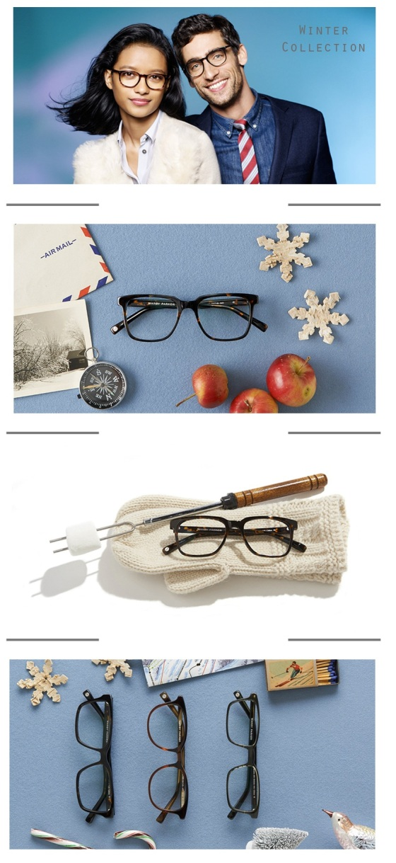 Warby Parker Winter Collection | Cake & Lilies