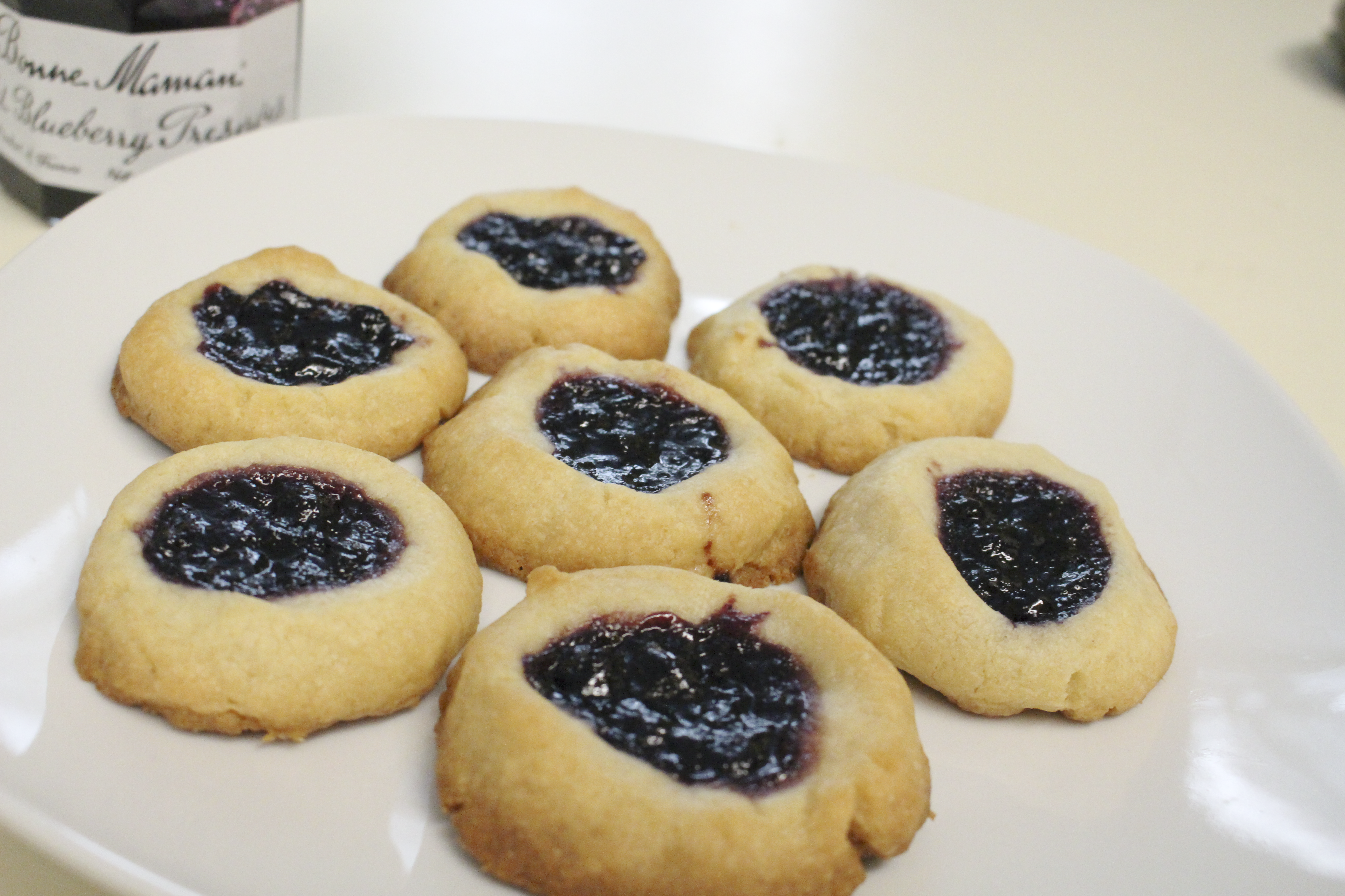 Jam Shortbread Cookies