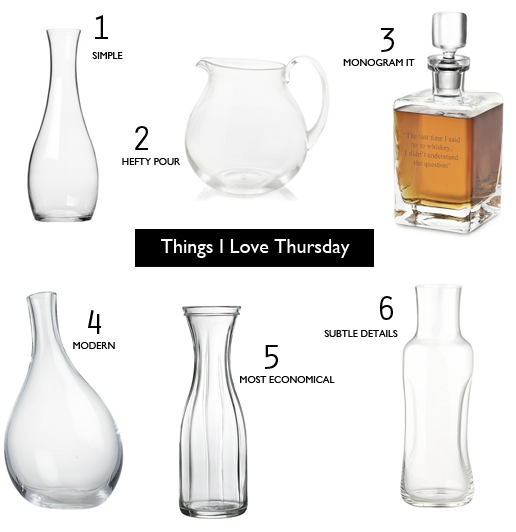 Carafes-and-Decanters