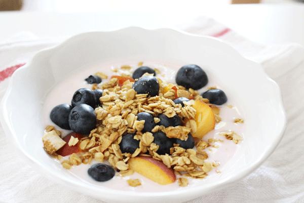 Keifer + Berries Snack