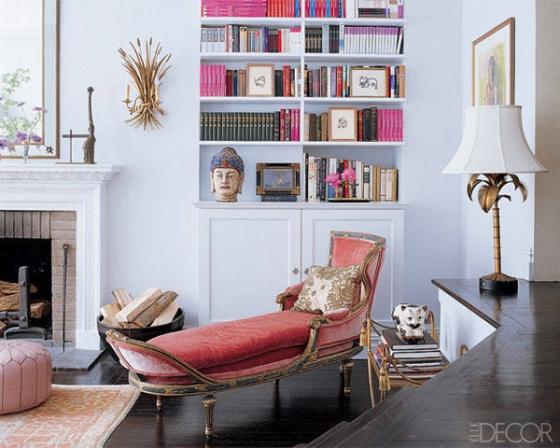 Bookshelves - Elle Decor